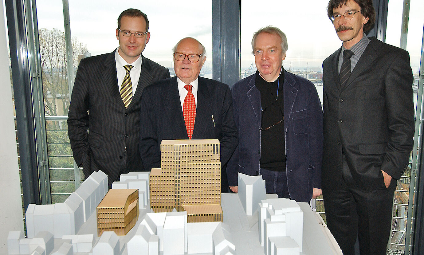Andreas Fraatz Willi Bartels David Chipperfield Architekt Jorn Walter ©EmpireRiversideHotel