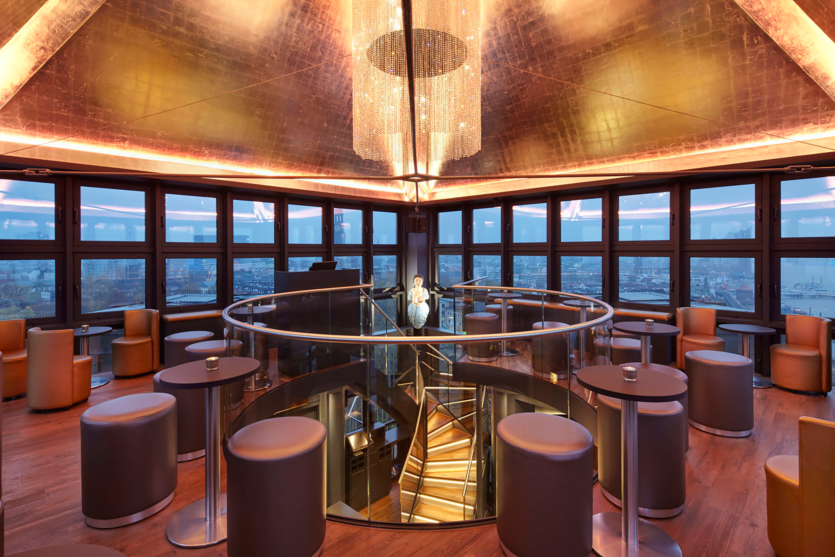 Tower Bar | 360° | Hotel Hafen Hamburg